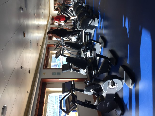 REgent Cruises Voyager fitness facility