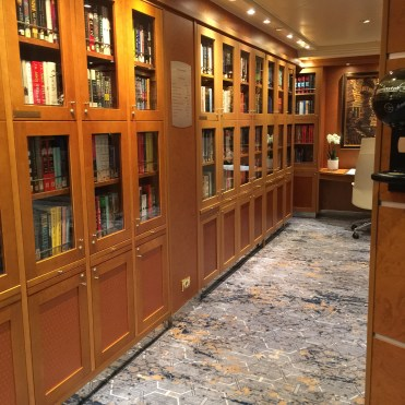 Regent Cruises Voyager Library