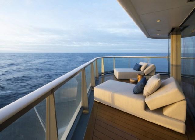 Celebrity Cruises Flora Penthouse Balcony
