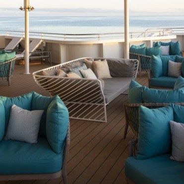 Celebrity Cruises Flora sunset lounge