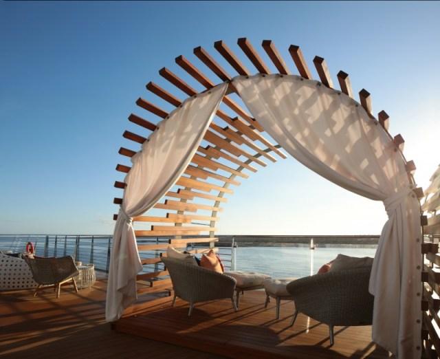 Celebrity Cruises Flora Vista view
