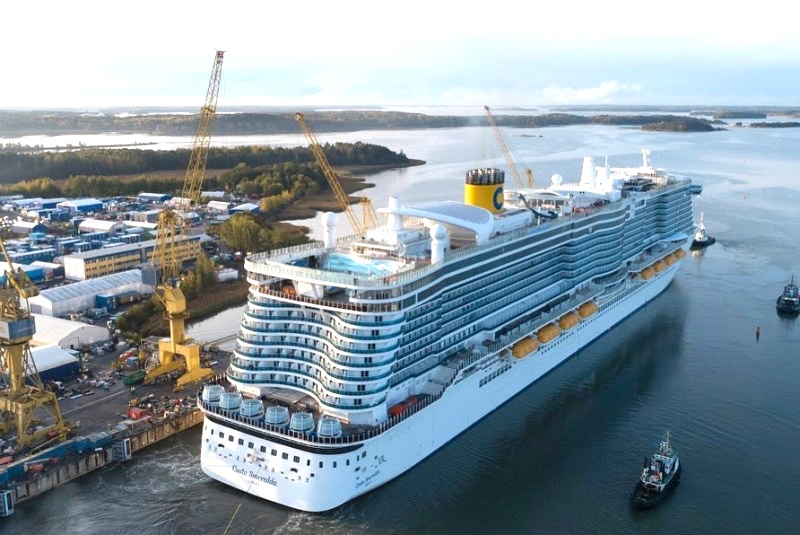 Costa Cruises Smeralda launching December 2019