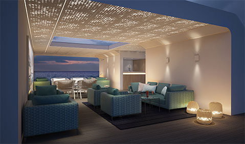 Crystal Cruises Endeavor Open Deck