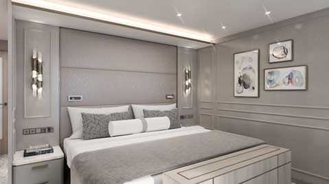 Crystal Cruises Endeavor Penthouse Suite 3