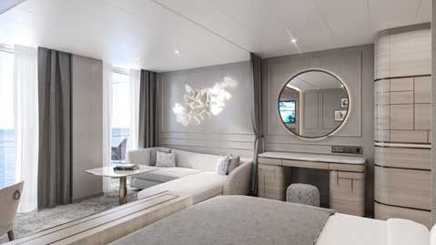 Crystal Cruises Endeavor Penthouse Suite 4