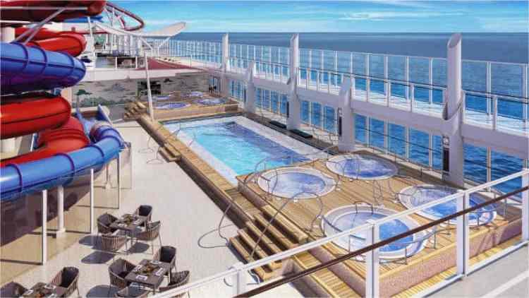 Dream Cruises pool