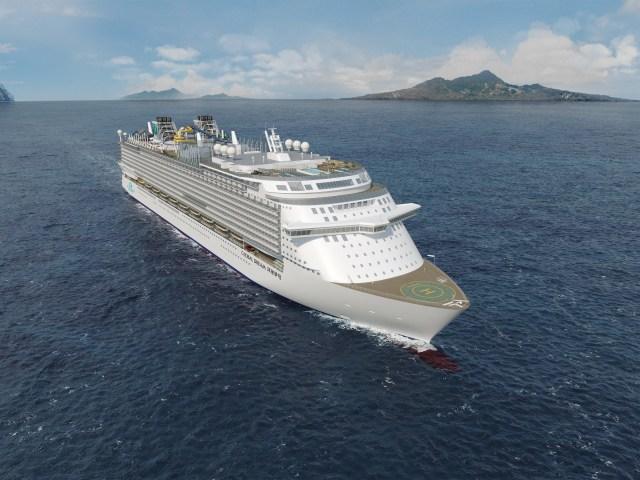 Longest roller coaster at sea on Dream Cruises Global Dream in 2021