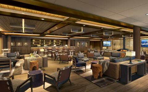 Seabourn Venture Lounge