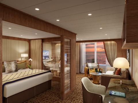 Seabourn Venture Penthouse suite