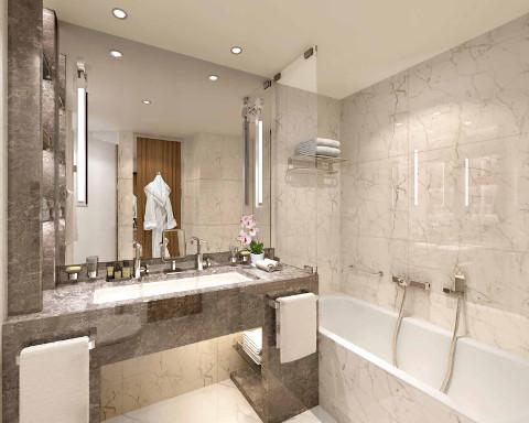 Seabourn Venture Veranda Suite bathroom