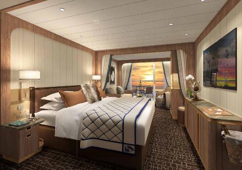 Seabourn Venture Veranda Suite