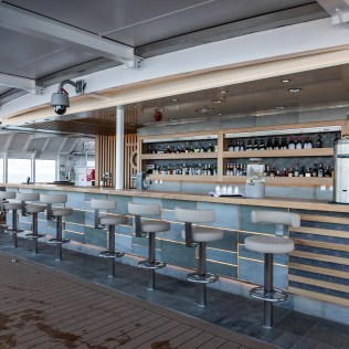 Hurtigruten cruises cruise ship pool bar