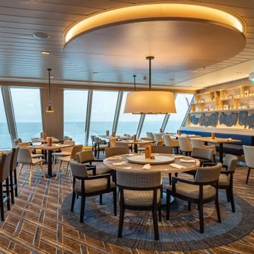 Hurtigruten cruises cruise ship Aune restaurant