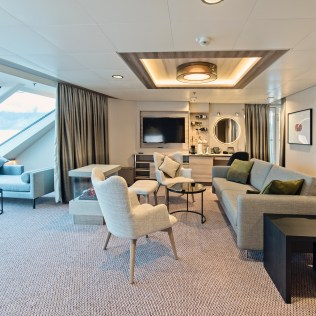Hurtigruten cruises cruise ship suite