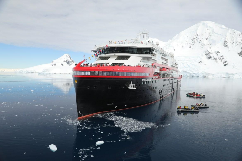 Hurtigruten Cruises has first hybrid electric expedition ship