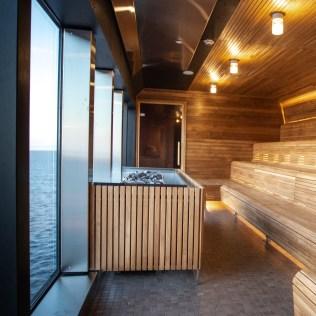 Hurtigruten cruises cruise ship sauna