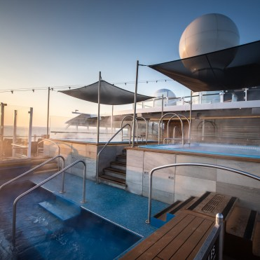 Hurtigruten cruises cruise ship hot tub