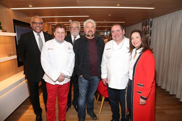 Carnival Cruises Panorama cruise ship Executives Chefs