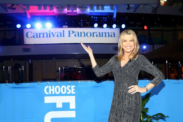 Carnival Cruises Panorama cruise ship Godmother Vanna White