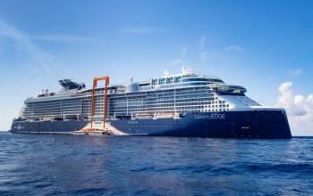 Celebrity Cruise Edge Exterior Starboard