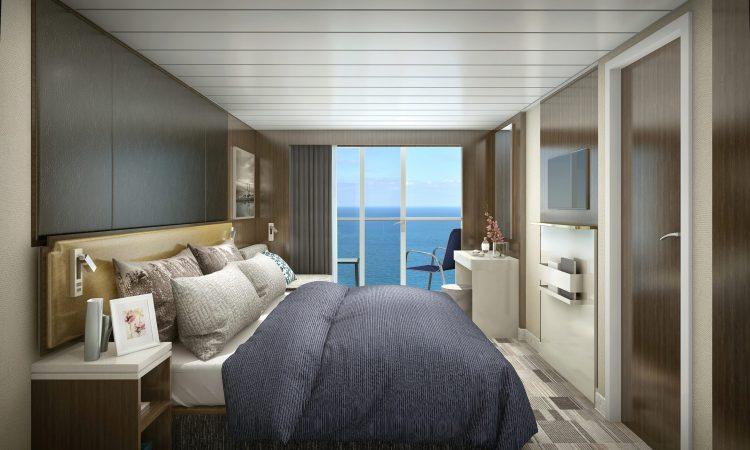 Norwegian cruise line Spirit cruise ship Balcony cabin