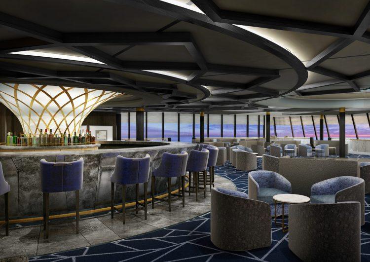 Norwegian cruise line Spirit cruise ship Spinnaker lounge