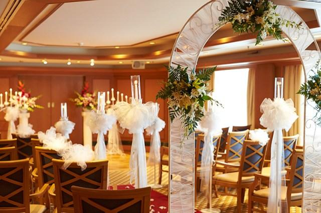 Princess Cruises wedding chapel vow renewal world record