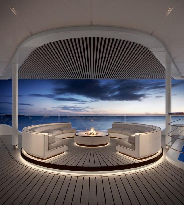 Silversea Origin lounge terrace view 1