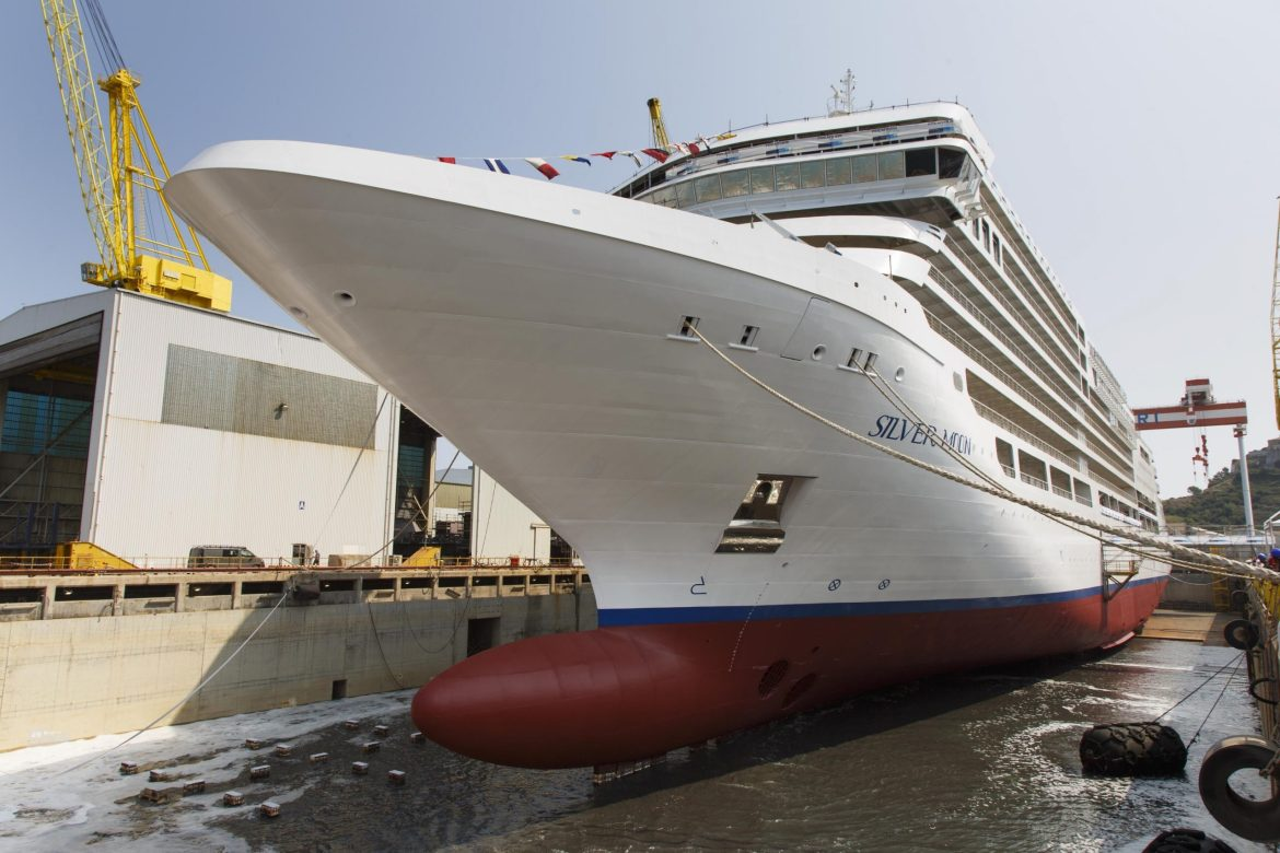 Silversea Cruises requires guests and crew be vaccinated; Silver Moon sails June 2021