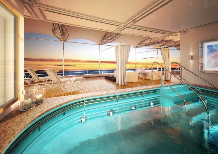Silversea Silver Moon Open Deck Spa