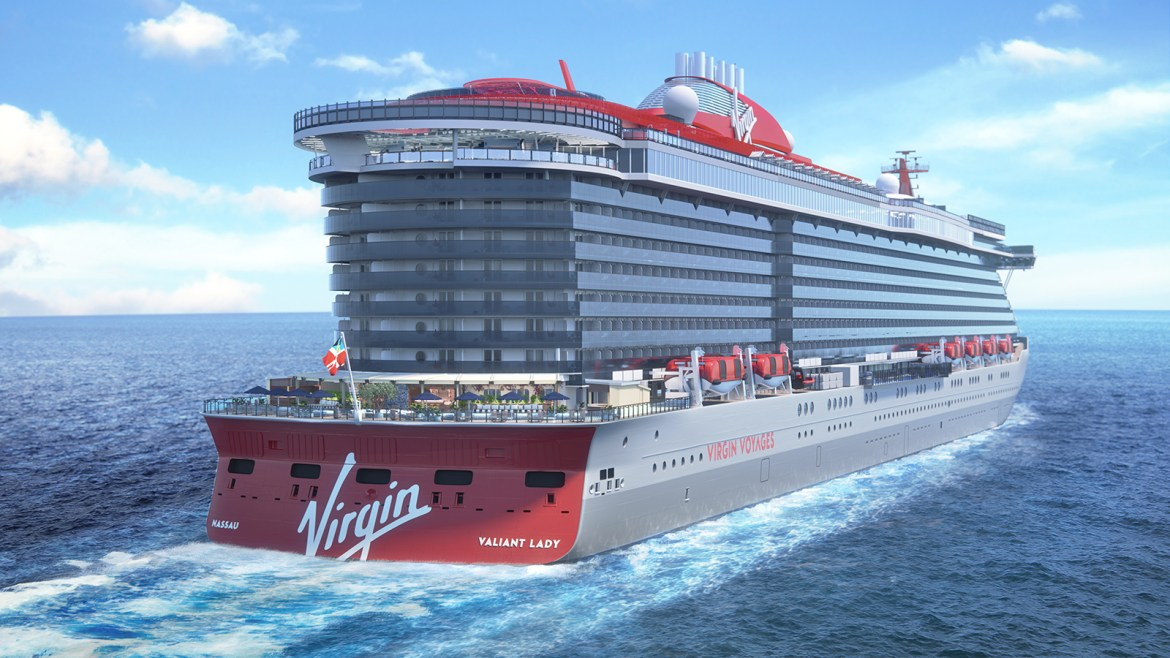 Virgin Voyages second ship to be called Valiant Lady