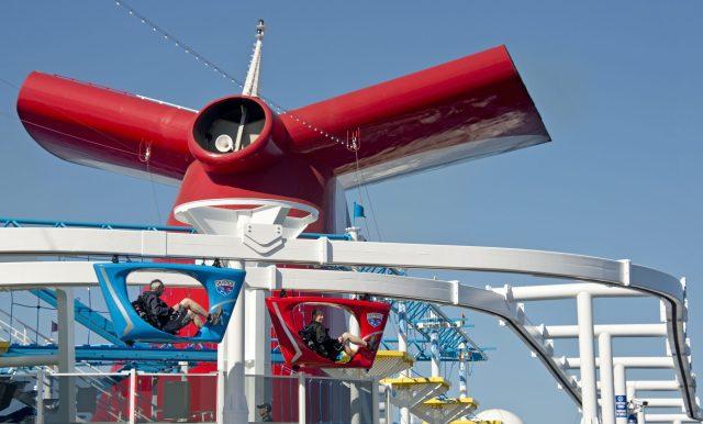 Carnival Cruises SkyRide bicycle ride