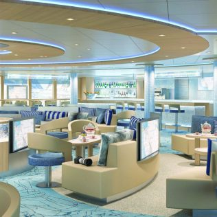 Lindblad Expeditions National Geographic Endurance cruise ship ice lounge