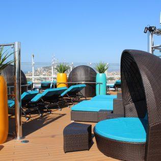 Carnival Cruises Panorama Serenity area