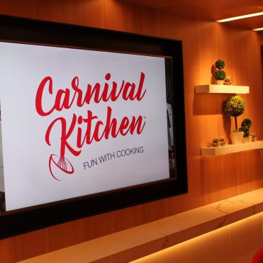 Carnival Cruises Panorama cruise ship Kitchen demonstration workshop