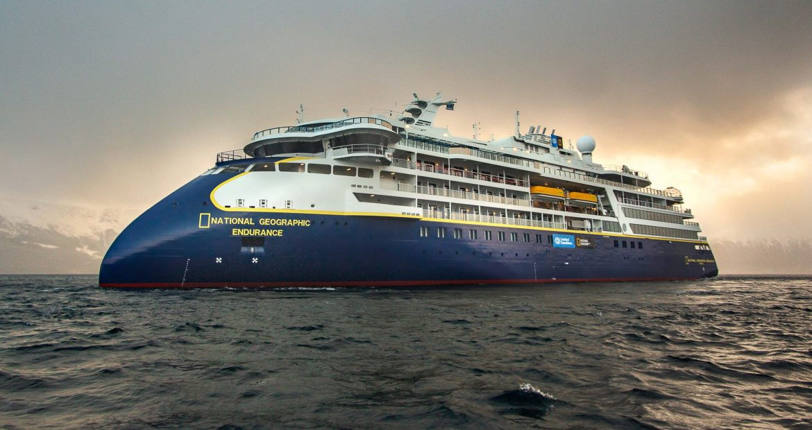 Lindblad Expeditions National Geographic Endurance ship launches soon