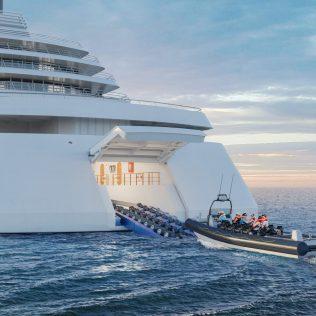 Viking Cruises Expedition Ship Hangar RIB