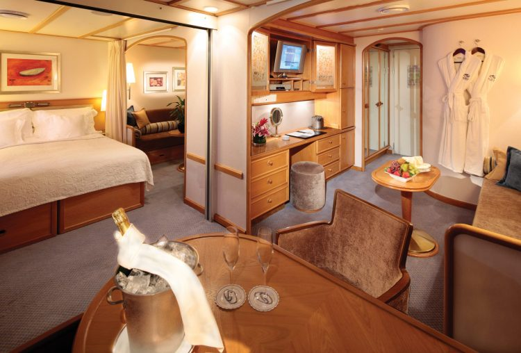 SeaDream Yacht Club ship Commodore Suite