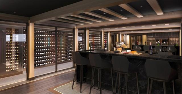 MSC Cruise Seashore cruise ship wine cellar