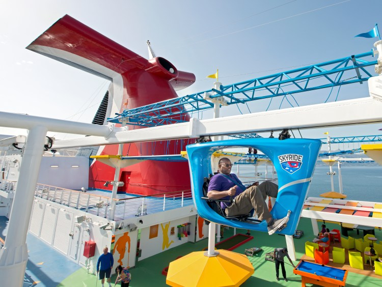 Carnival Cruises Carnival Horizon Skyride