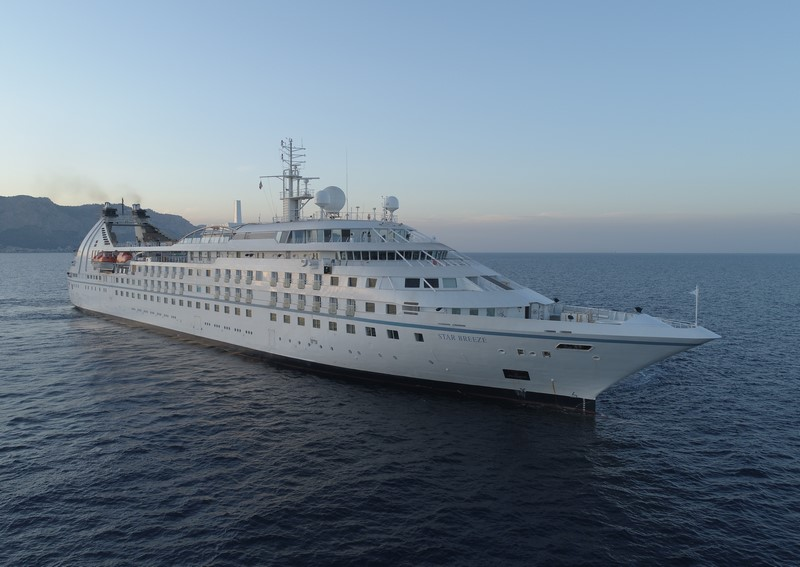 Windstar Star Breeze cruise ship stretching adds 50 suites