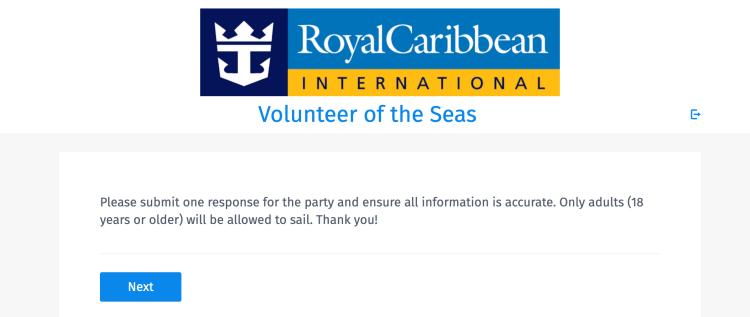Volunteers of the Seas form