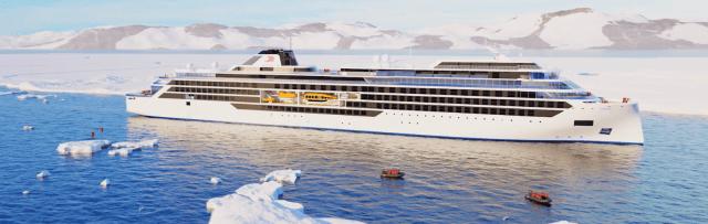 Viking Cruises Octantis cruise ship exterior rendering