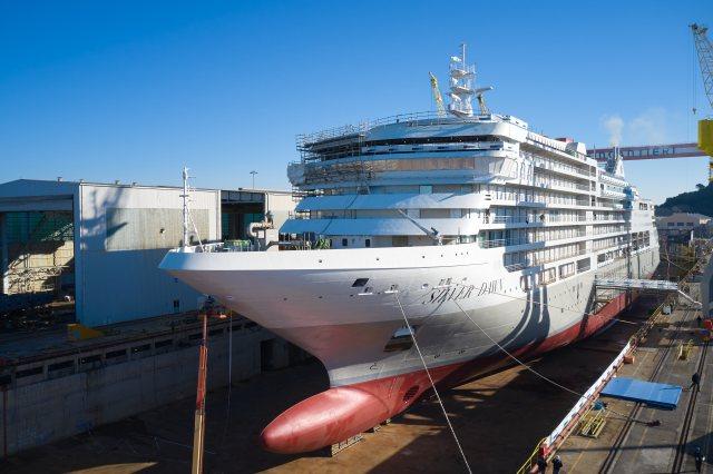 Silversea Cruises Silver Dawn Bow