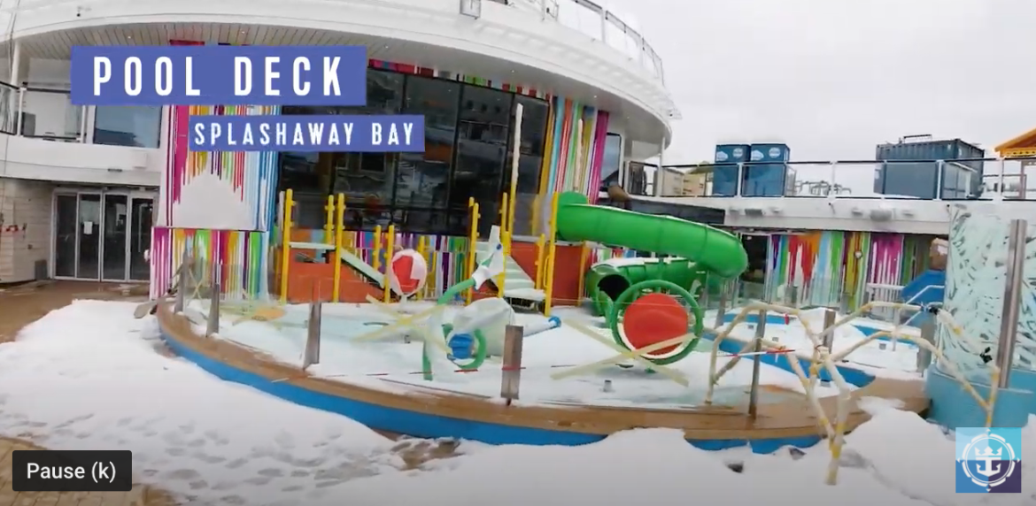 Royal Caribbean Odyssey of the Seas conveyance update and construction video