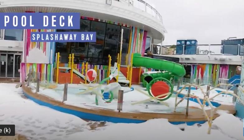 Royal Caribbean Odyssey of the Seas Splashaway Bay Pool Deck