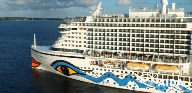AIDA Cruises AIDAperla Port side