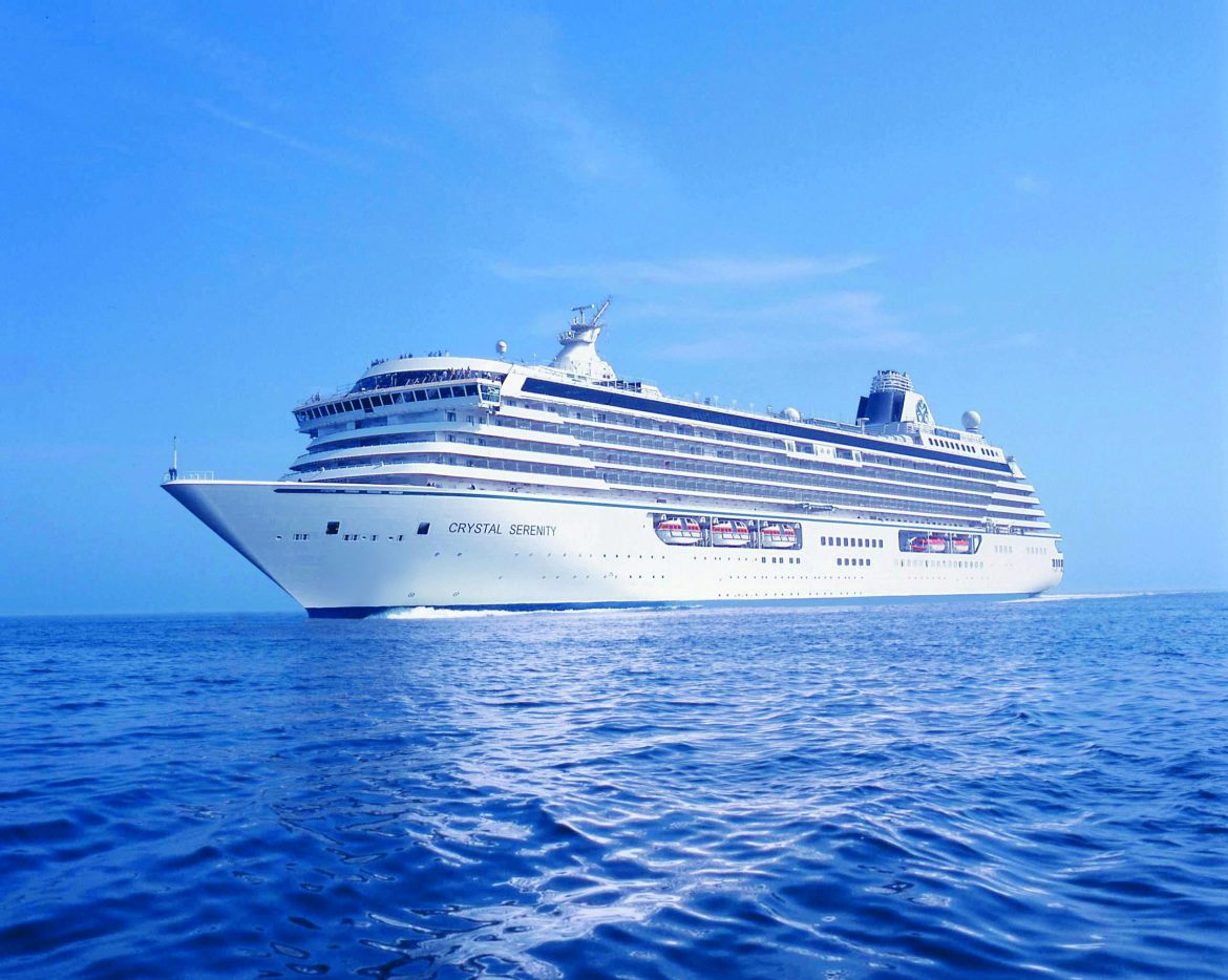 Crystal Cruises restarts cruising in the Bahamas for vaccinated passengers