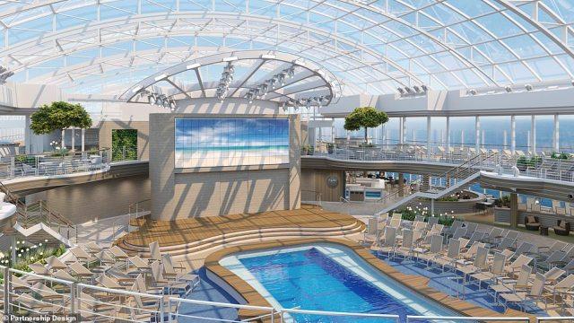 P&O Cruises Arvia skydome