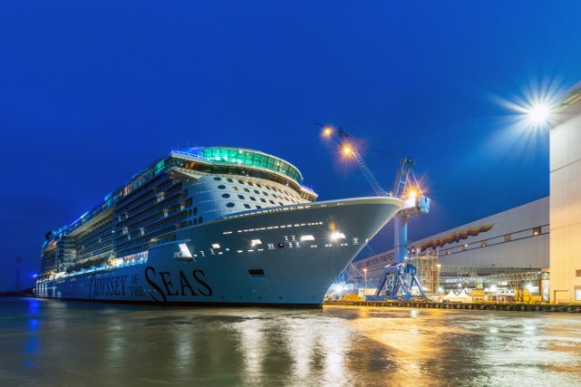 Royal Caribbean Odyssey of the Seas exterior